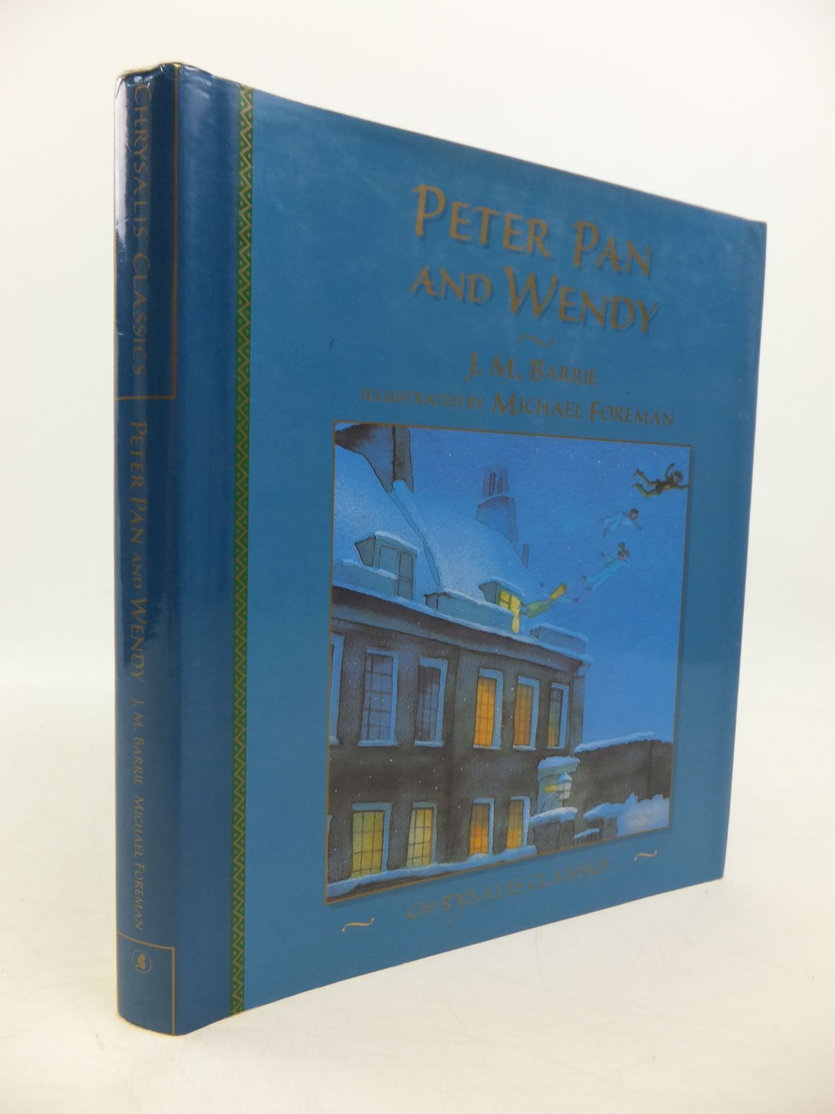 Photo of PETER PAN AND WENDY written by Barrie, J.M. illustrated by Foreman, Michael published by Chrysalis Children's Books (STOCK CODE: 1208140)  for sale by Stella & Rose's Books