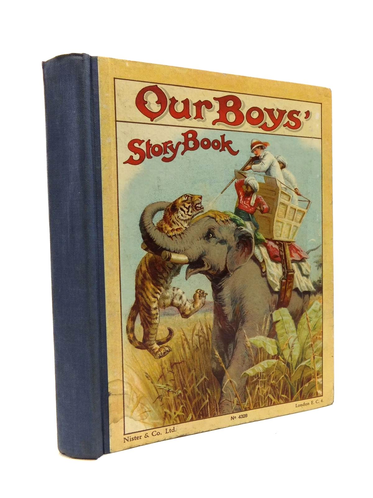 Photo of OUR BOYS' STORY BOOK written by Parry, D.H.<br />Weedon, L.L.<br />Fenn, George Manville<br />Knight, Arthur Lee<br />et al, published by Nister &amp; Co. Ltd. (STOCK CODE: 1208227)  for sale by Stella & Rose's Books