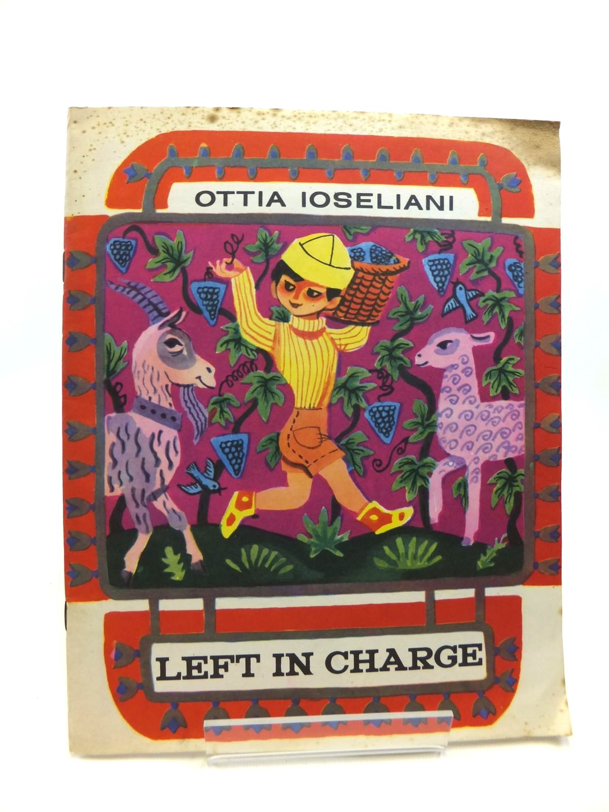 Photo of LEFT IN CHARGE written by Ioseliani, Ottia published by Progress Publishers (STOCK CODE: 1208380)  for sale by Stella & Rose's Books