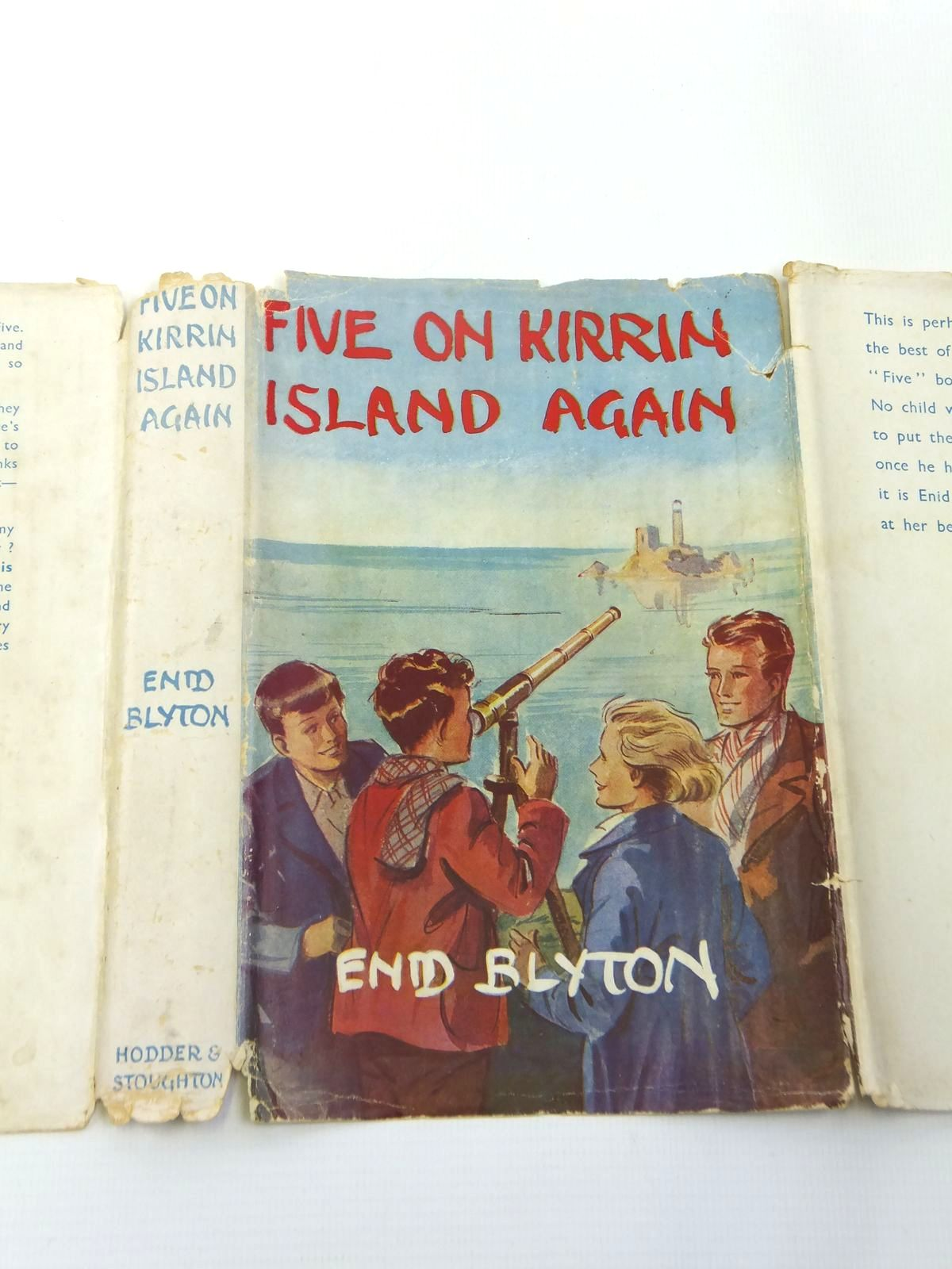 Photo of FIVE ON KIRRIN ISLAND AGAIN written by Blyton, Enid illustrated by Soper, Eileen published by Hodder & Stoughton (STOCK CODE: 1208470)  for sale by Stella & Rose's Books
