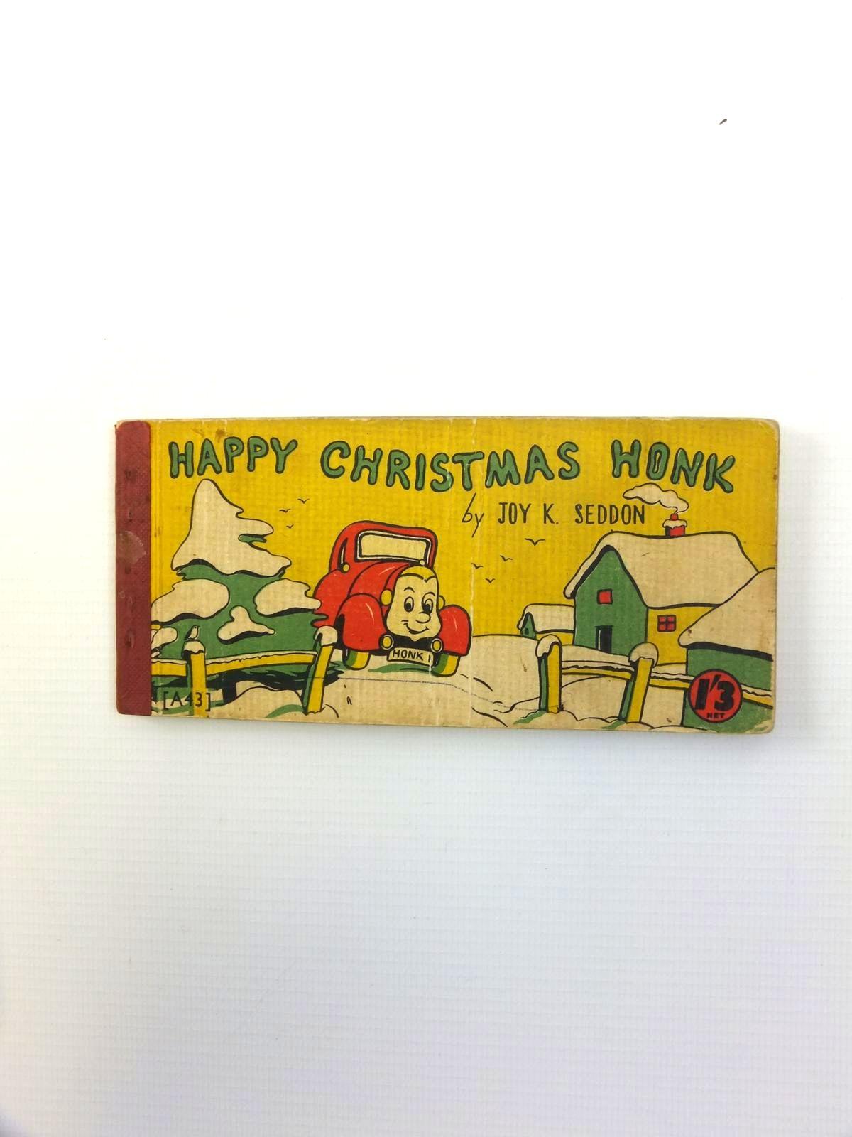 Photo of HAPPY CHRISTMAS HONK written by Seddon, Joy K. illustrated by Seddon, Joy K. published by Brockhampton Press Ltd. (STOCK CODE: 1208534)  for sale by Stella & Rose's Books