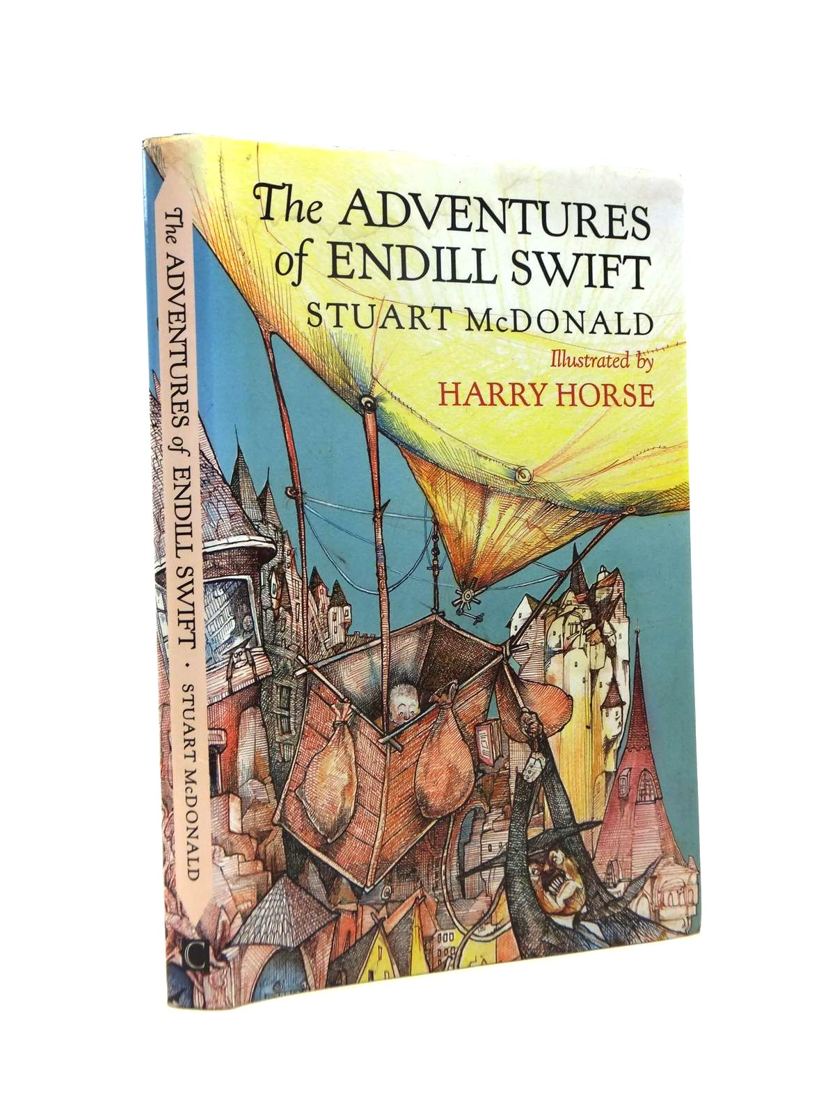 Photo of THE ADVENTURES OF ENDILL SWIFT written by McDonald, Stuart illustrated by Horse, Harry published by Canongate (STOCK CODE: 1208551)  for sale by Stella & Rose's Books