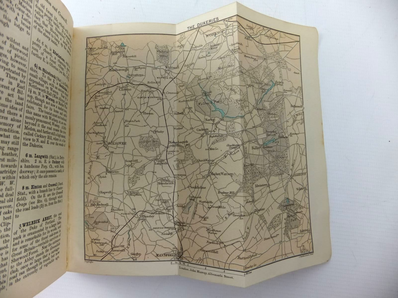 Photo of HANDBOOK FOR TRAVELLERS IN DERBYSHIRE, NOTTINGHAMSHIRE, LEICESTERSHIRE AND STAFFORDSHIRE published by John Murray (STOCK CODE: 1208689)  for sale by Stella & Rose's Books