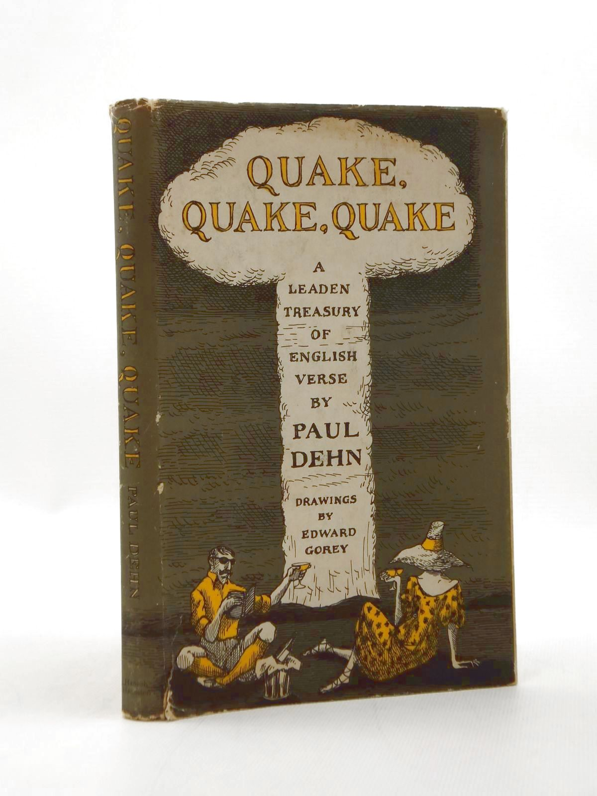 Photo of QUAKE, QUAKE, QUAKE written by Gorey, Edward Dehn, Paul illustrated by Gorey, Edward published by Hamish Hamilton (STOCK CODE: 1208712)  for sale by Stella & Rose's Books