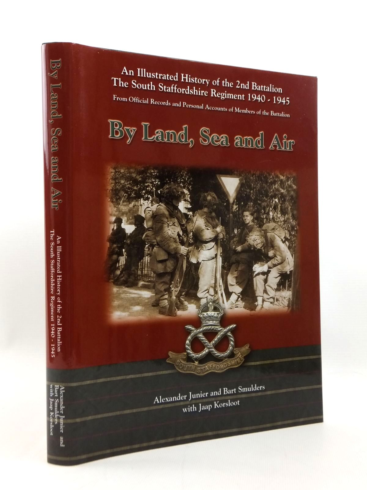 Photo of BY LAND, SEA AND AIR written by Junier, Alexander<br />Smulders, Bart<br />Korsloot, Jaap published by R.N. Sigmond Publishing (STOCK CODE: 1208745)  for sale by Stella & Rose's Books