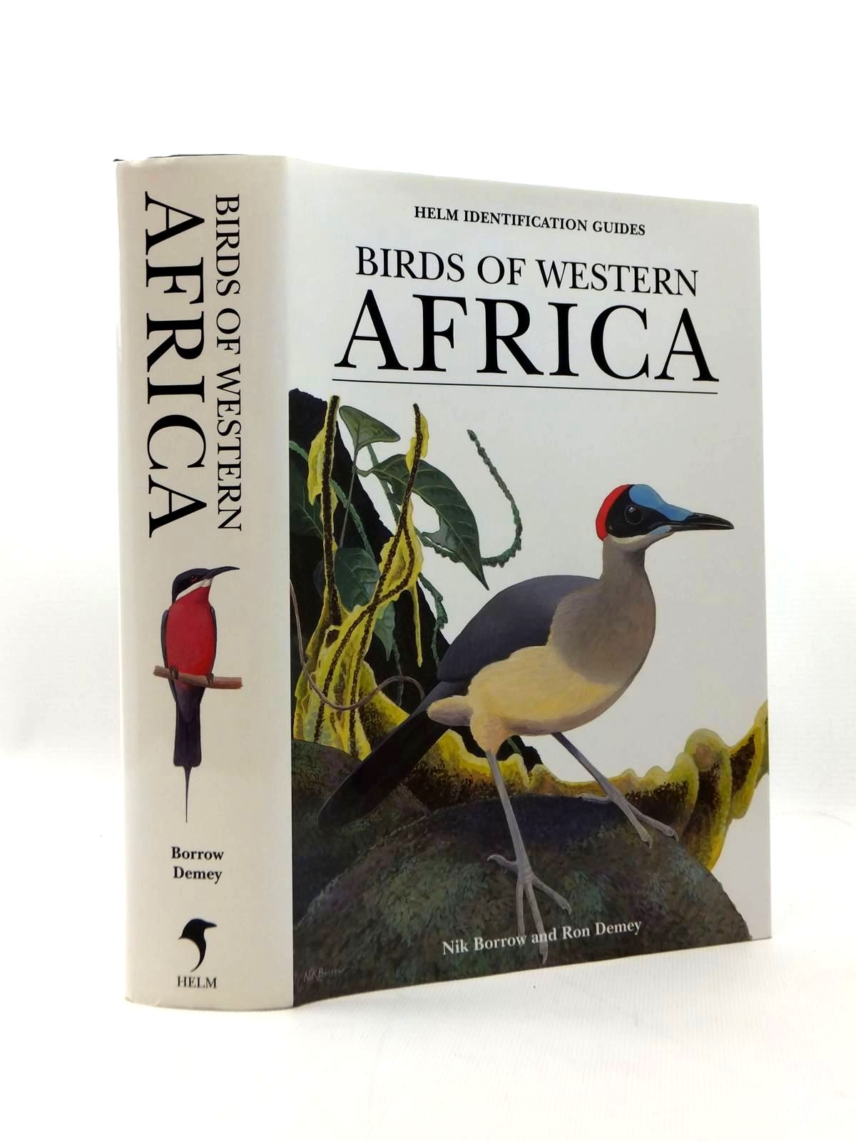 Photo of BIRDS OF WESTERN AFRICA (HELM IDENTIFICATION GUIDES) written by Demey, Ron illustrated by Borrow, Nik published by Christopher Helm (STOCK CODE: 1208770)  for sale by Stella & Rose's Books