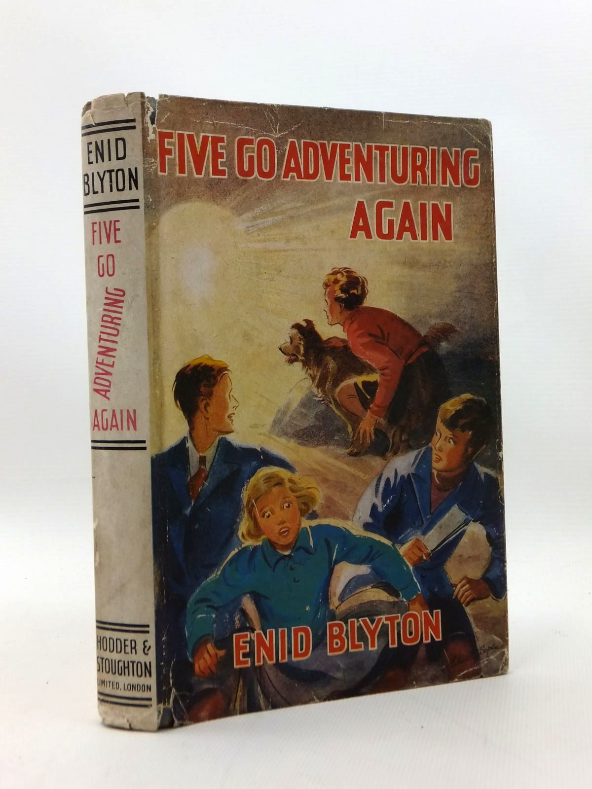 Photo of FIVE GO ADVENTURING AGAIN written by Blyton, Enid illustrated by Soper, Eileen published by Hodder & Stoughton (STOCK CODE: 1208780)  for sale by Stella & Rose's Books