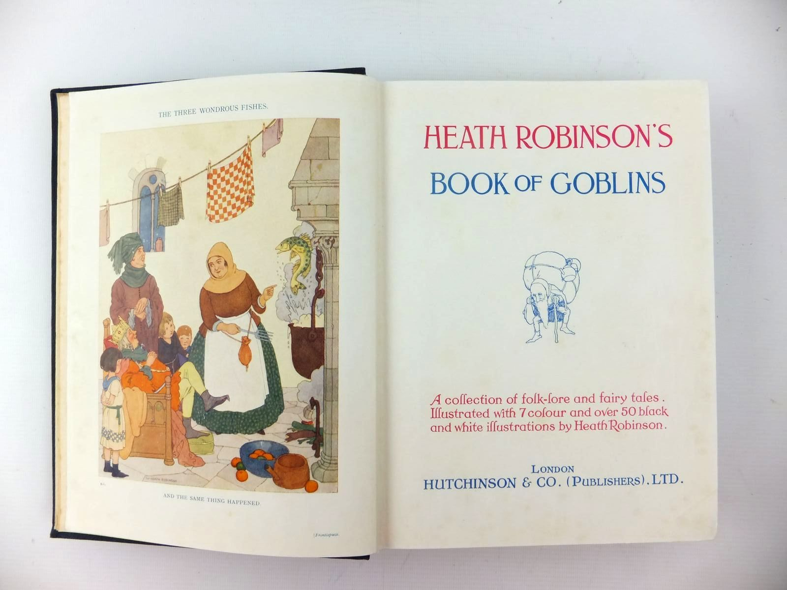Photo of HEATH ROBINSON'S BOOK OF GOBLINS illustrated by Robinson, W. Heath published by Hutchinson & Co. Ltd (STOCK CODE: 1208807)  for sale by Stella & Rose's Books