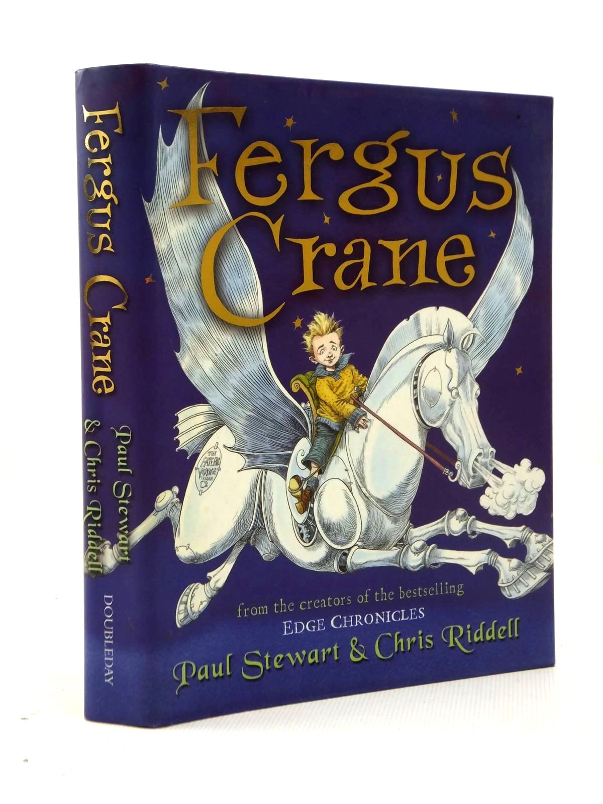 Photo of FERGUS CRANE written by Stewart, Paul illustrated by Riddell, Chris published by Doubleday (STOCK CODE: 1208833)  for sale by Stella & Rose's Books