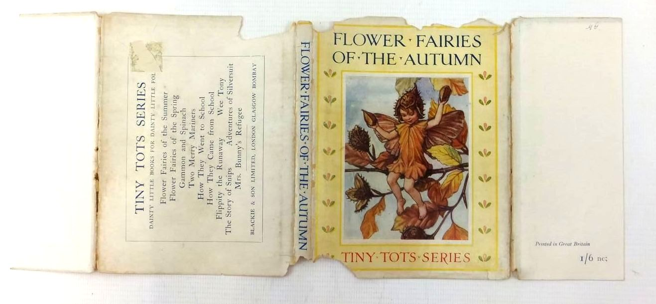 Photo of FLOWER FAIRIES OF THE AUTUMN written by Barker, Cicely Mary illustrated by Barker, Cicely Mary published by Blackie & Son Ltd. (STOCK CODE: 1208885)  for sale by Stella & Rose's Books