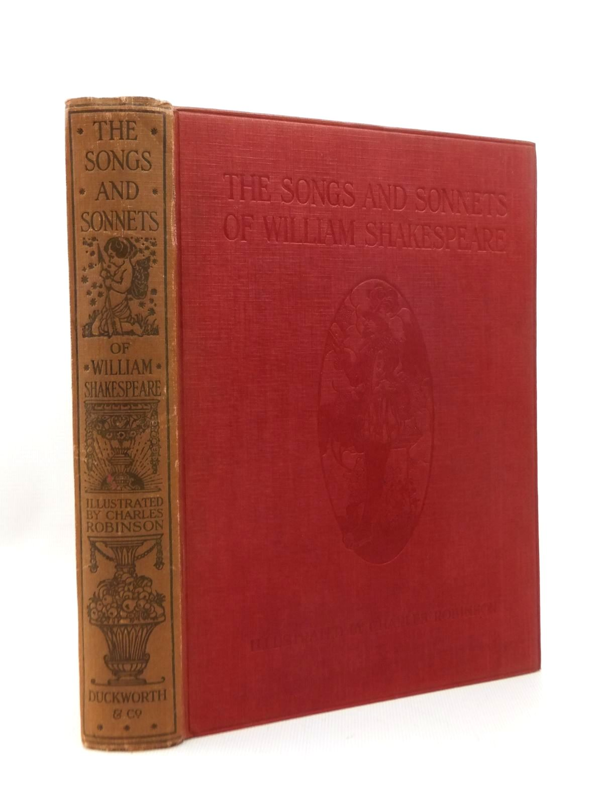 Photo of THE SONGS AND SONNETS OF WILLIAM SHAKESPEARE- Stock Number: 1208888