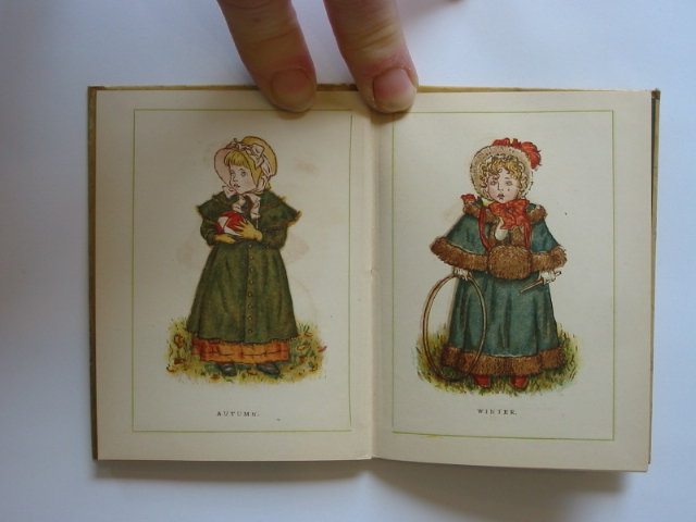 Photo of ALMANACK FOR 1885 illustrated by Greenaway, Kate published by George Routledge & Sons (STOCK CODE: 1302088)  for sale by Stella & Rose's Books