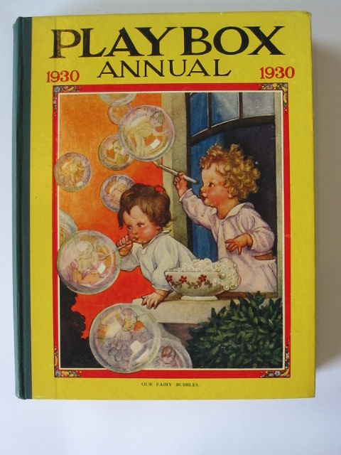Photo of PLAYBOX ANNUAL 1930 illustrated by Foxwell, Herbert<br />Jackson, A.E.<br />et al.,  published by The Amalgamated Press (STOCK CODE: 1302479)  for sale by Stella & Rose's Books