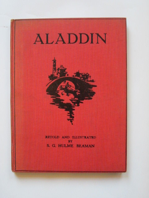 Photo of ALADDIN written by Beaman, S.G. Hulme illustrated by Beaman, S.G. Hulme published by John Lane The Bodley Head (STOCK CODE: 1304121)  for sale by Stella & Rose's Books