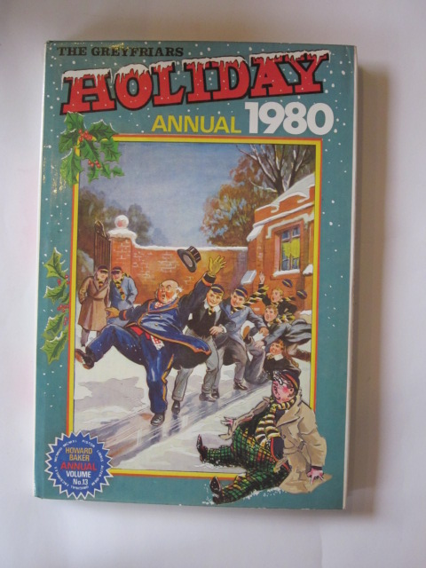 Photo of THE GREYFRIARS HOLIDAY ANNUAL 1980 written by Richards, Frank published by Howard Baker Press (STOCK CODE: 1304140)  for sale by Stella & Rose's Books