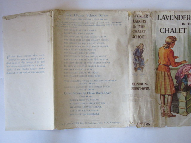 Photo of LAVENDER LAUGHS IN THE CHALET SCHOOL written by Brent-Dyer, Elinor M. illustrated by Brisley, Nina K. published by W. & R. Chambers Limited (STOCK CODE: 1304455)  for sale by Stella & Rose's Books
