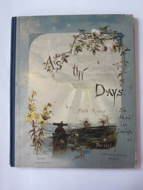 Photo of AS THY DAYS SO SHALL THY STRENGTH BE- Stock Number: 1304633