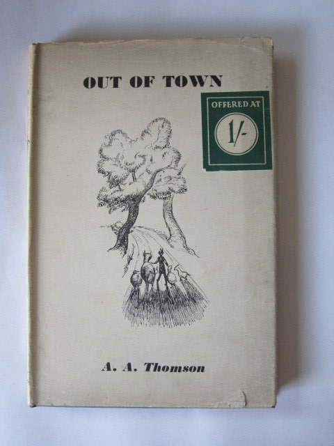 Photo of OUT OF TOWN written by Thomson, A.A. illustrated by Vise, Jennetta published by Herbert Jenkins (STOCK CODE: 1305053)  for sale by Stella & Rose's Books