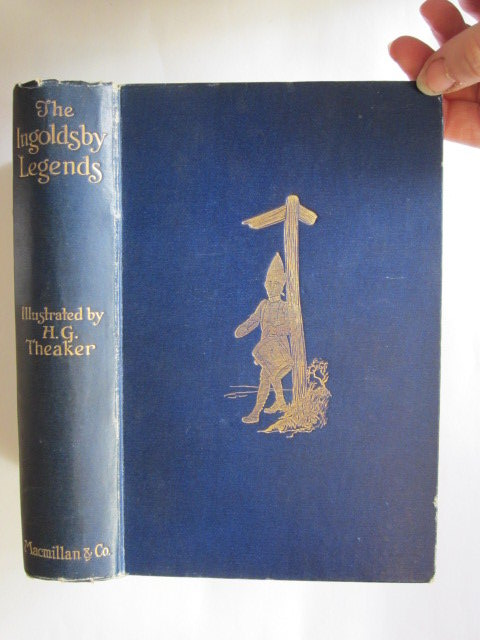 Photo of THE INGOLDSBY LEGENDS written by Ingoldsby, Thomas illustrated by Theaker, Harry G. published by Macmillan & Co. Ltd. (STOCK CODE: 1305118)  for sale by Stella & Rose's Books