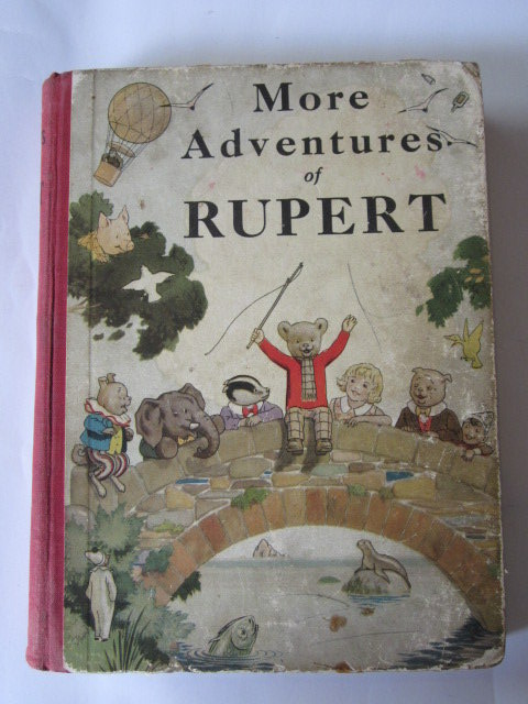 Photo of RUPERT ANNUAL 1937 - MORE ADVENTURES OF RUPERT- Stock Number: 1305553