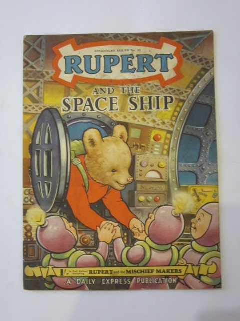 Photo of RUPERT ADVENTURE SERIES No. 19 - RUPERT AND THE SPACE SHIP- Stock Number: 1306441