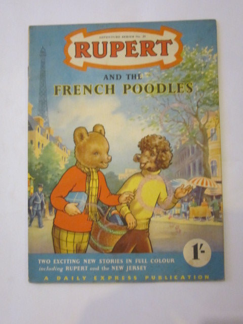 Photo of RUPERT ADVENTURE SERIES No. 25 - RUPERT AND THE FRENCH POODLES- Stock Number: 1306442