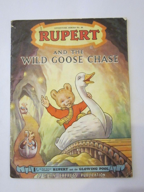 Photo of RUPERT ADVENTURE SERIES No. 20 - RUPERT AND THE WILD GOOSE CHASE- Stock Number: 1306447
