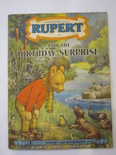 Photo of RUPERT ADVENTURE SERIES No. 24 - RUPERT AND THE BIRTHDAY SURPRISE written by Bestall, Alfred published by Daily Express (STOCK CODE: 1306451)  for sale by Stella & Rose's Books