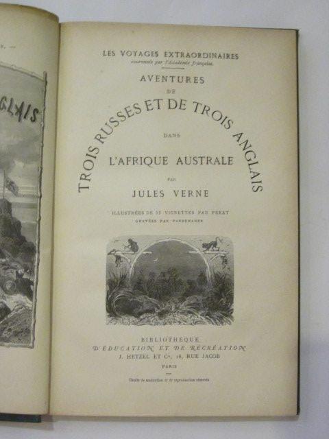 Photo of AVENTURES DE TROIS RUSSES ET DE TROIS ANGLAIS DANS L'AFRIQUE AUSTRALE- Stock Number: 1306717
