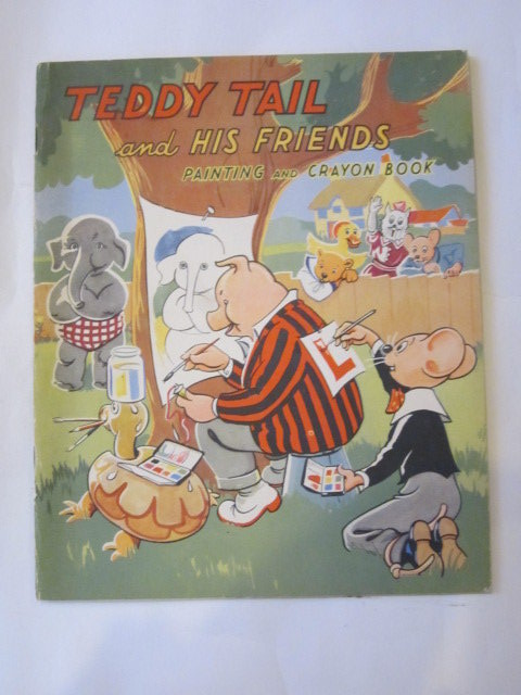 Photo of TEDDY TAIL AND HIS FRIENDS PAINTING AND CRAYON BOOK published by Juvenile Productions Ltd. (STOCK CODE: 1307188)  for sale by Stella & Rose's Books