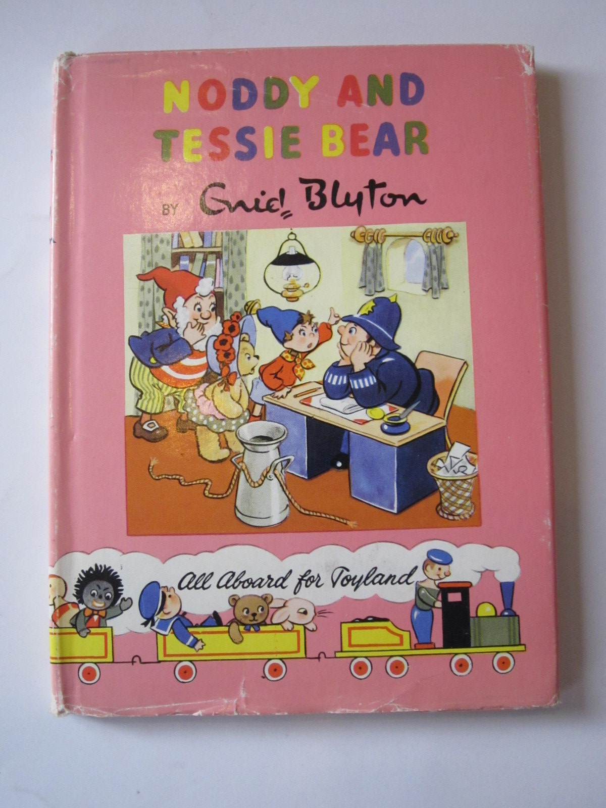 Photo of NODDY AND TESSIE BEAR written by Blyton, Enid illustrated by Lee, Robert published by Sampson Low, Marston & Co. Ltd., The Richards Press (STOCK CODE: 1307642)  for sale by Stella & Rose's Books