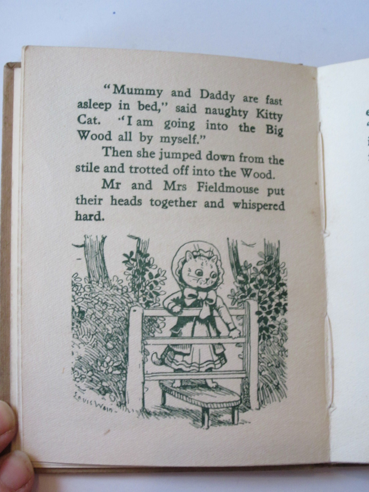Photo of THE TALE OF NAUGHTY KITTY CAT written by Rutley, Cecily M. illustrated by Wain, Louis published by Valentine & Sons Ltd. (STOCK CODE: 1308108)  for sale by Stella & Rose's Books