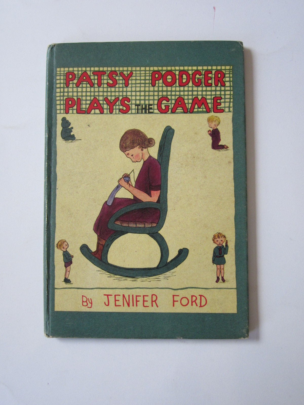 Photo of PATSY PODGER PLAYS THE GAME written by Ford, Jenifer illustrated by Ford, Jenifer published by George G. Harrap & Co. Ltd. (STOCK CODE: 1308309)  for sale by Stella & Rose's Books