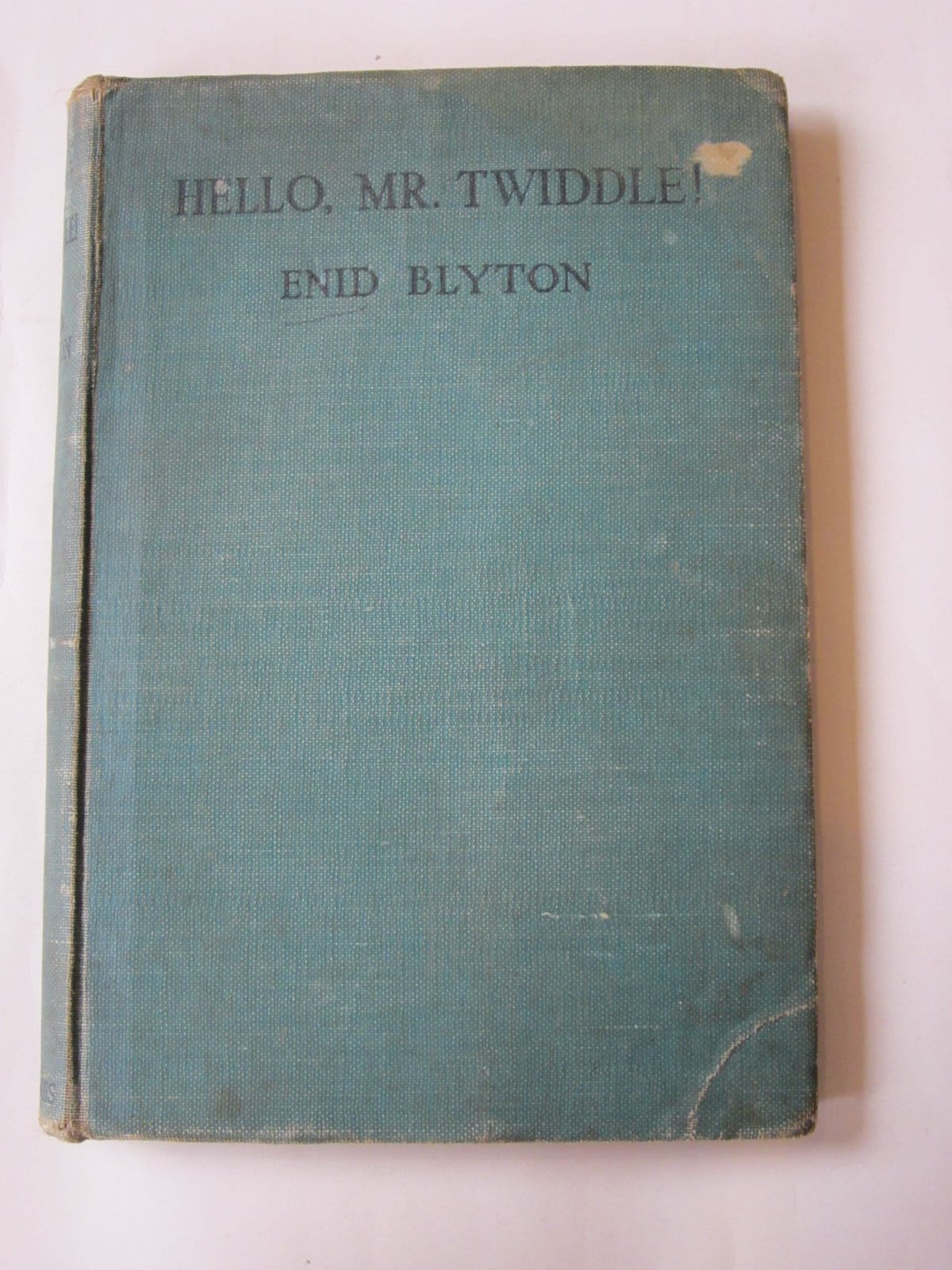 Photo of HELLO, MR. TWIDDLE! written by Blyton, Enid illustrated by McGavin, Hilda published by George Newnes Ltd. (STOCK CODE: 1308426)  for sale by Stella & Rose's Books