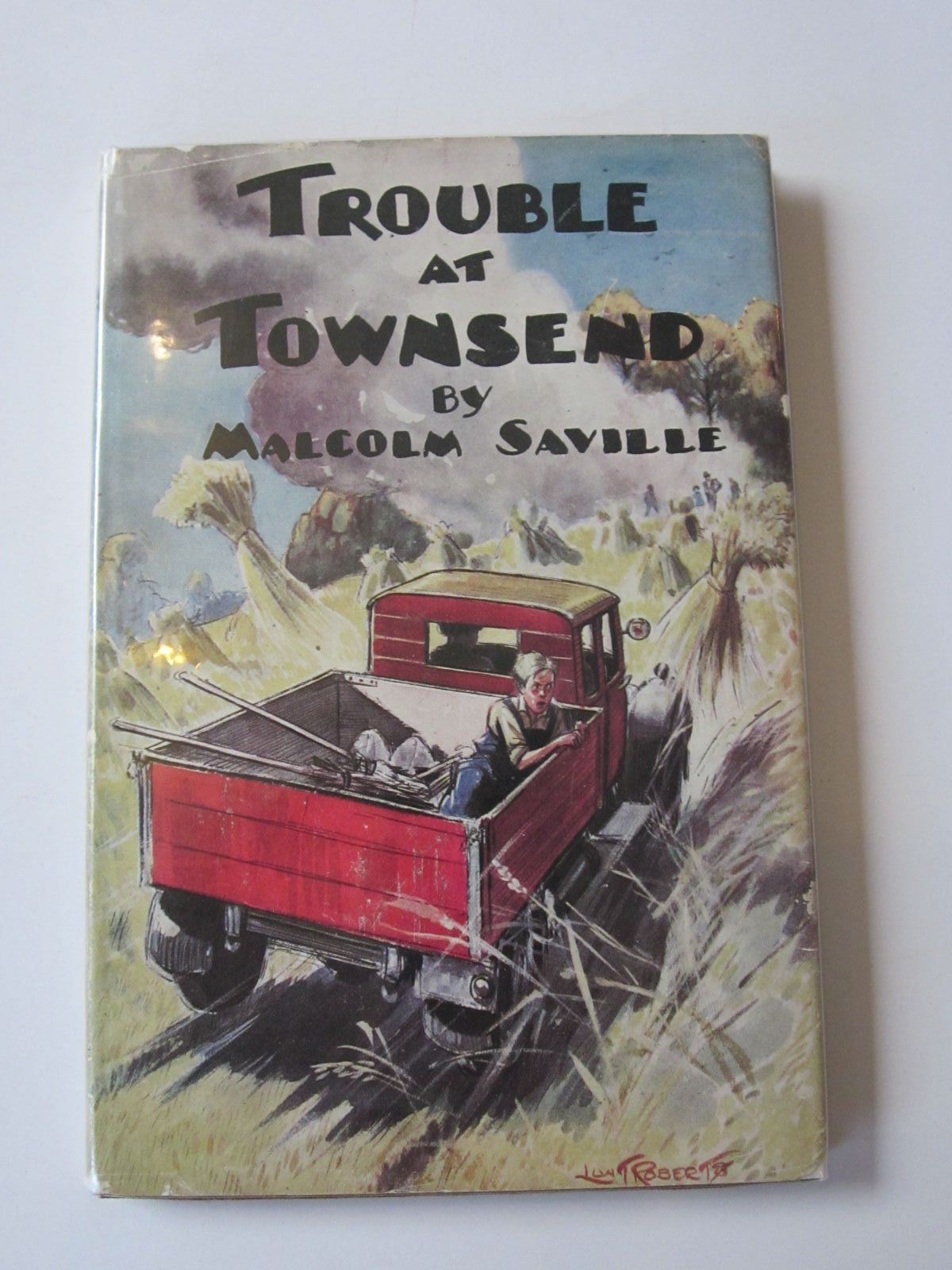 Photo of TROUBLE AT TOWNSEND written by Saville, Malcolm illustrated by Roberts, Lunt published by Transatlantic Arts Ltd. (STOCK CODE: 1308471)  for sale by Stella & Rose's Books