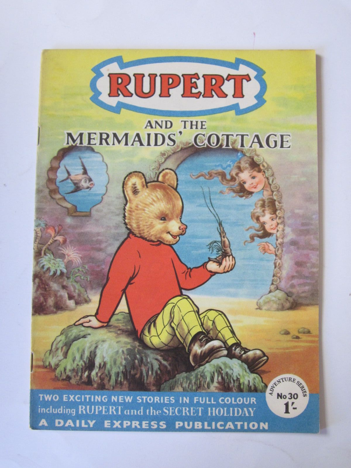 Photo of RUPERT ADVENTURE SERIES No. 30 - RUPERT AND THE MERMAIDS' COTTAGE written by Bestall, Alfred published by Daily Express (STOCK CODE: 1308486)  for sale by Stella & Rose's Books
