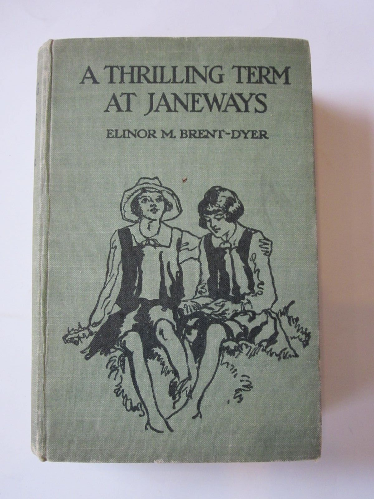 Photo of A THRILLING TERM AT JANEWAYS written by Brent-Dyer, Elinor M. illustrated by Anderson, Florence Mary published by T. Nelson & Sons Ltd. (STOCK CODE: 1308558)  for sale by Stella & Rose's Books