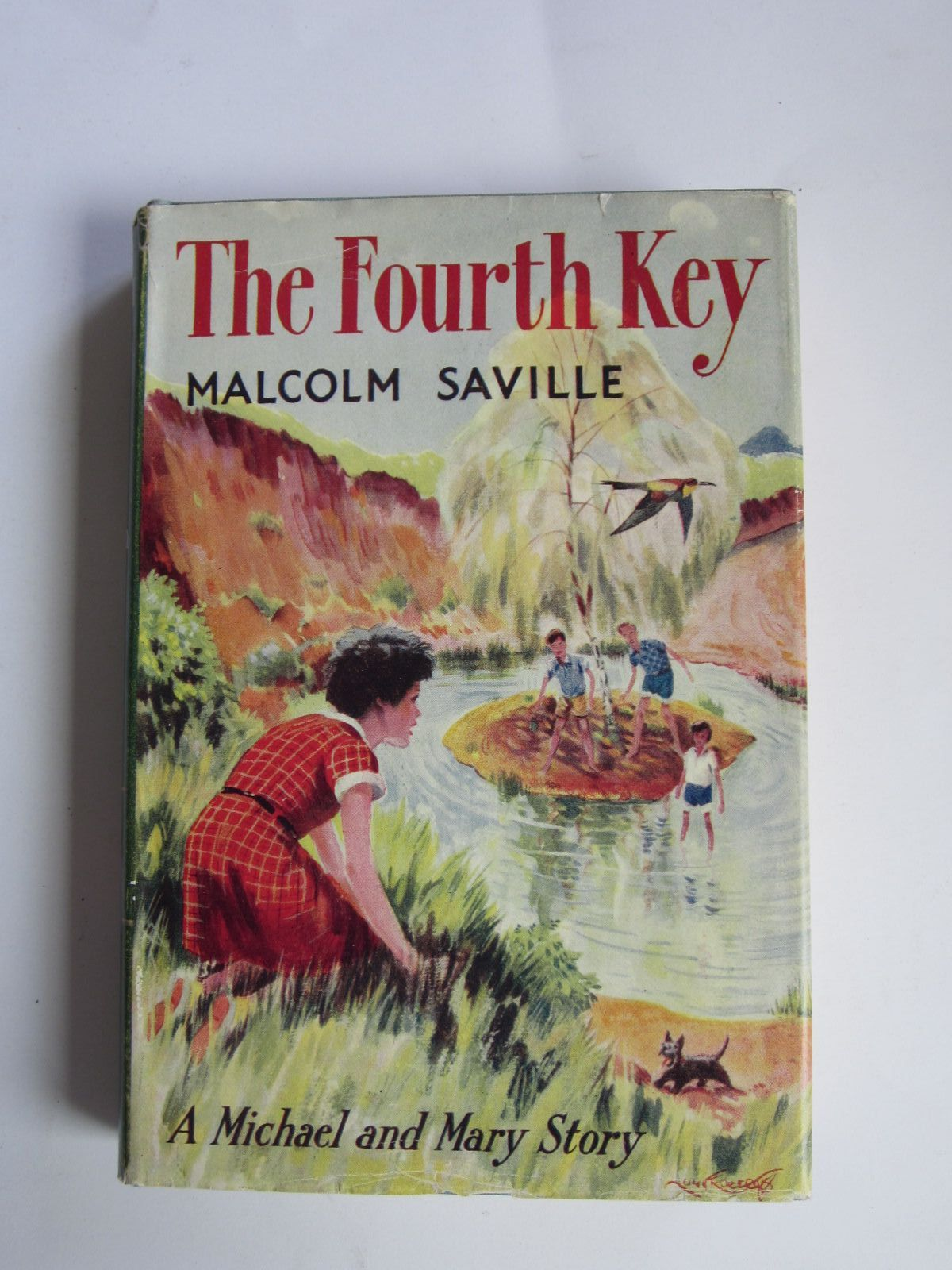 Photo of THE FOURTH KEY written by Saville, Malcolm illustrated by Roberts, Lunt published by John Murray (STOCK CODE: 1309051)  for sale by Stella & Rose's Books