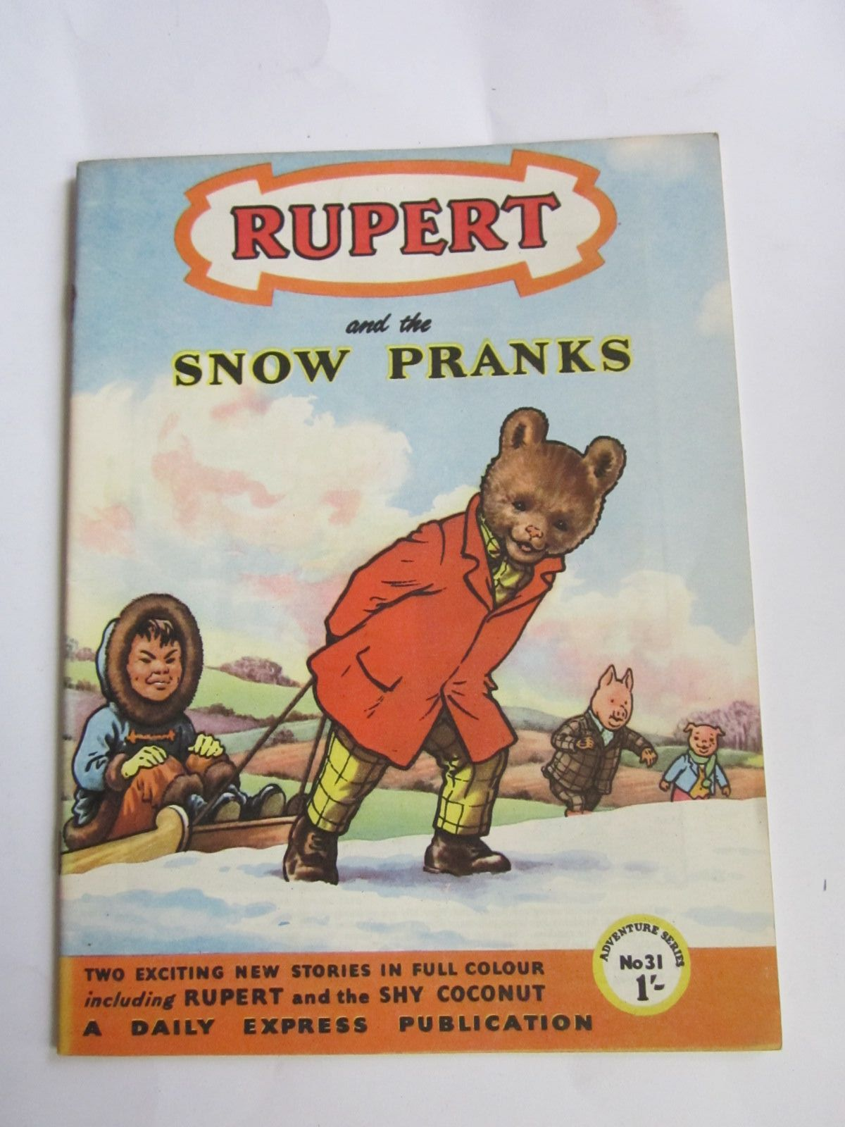 Photo of RUPERT ADVENTURE SERIES No. 31 - RUPERT AND THE SNOW PRANKS written by Bestall, Alfred published by Daily Express (STOCK CODE: 1309063)  for sale by Stella & Rose's Books