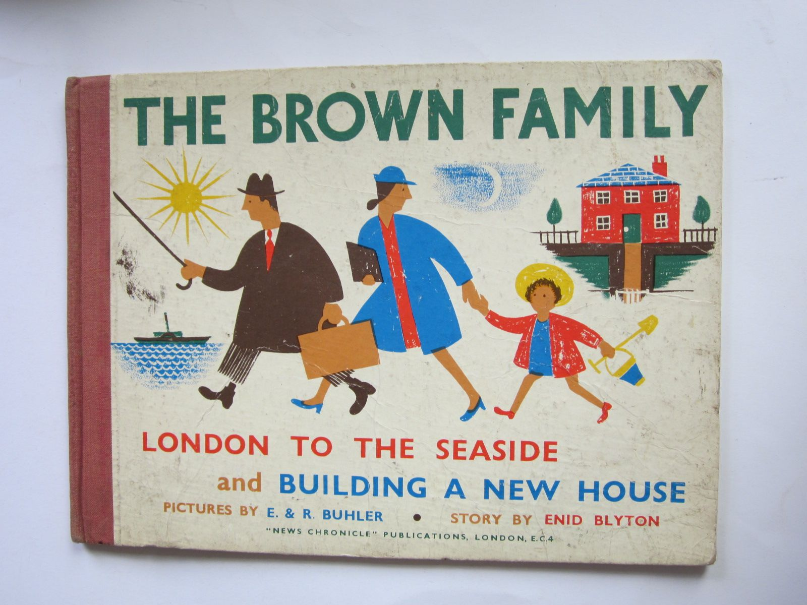Photo of THE BROWN FAMILY written by Blyton, Enid illustrated by Buhler, E. Buhler, R. published by News Chronicle (STOCK CODE: 1309078)  for sale by Stella & Rose's Books