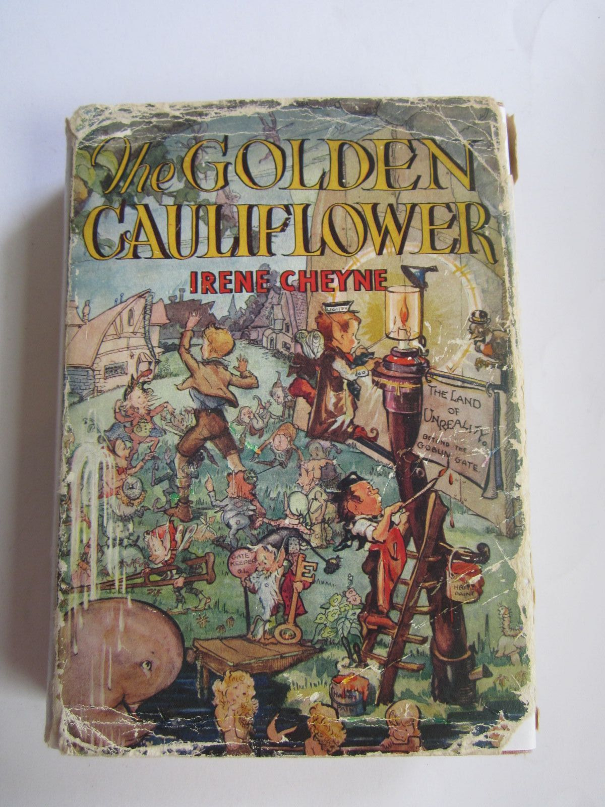 Photo of THE GOLDEN CAULIFLOWER written by Cheyne, Irene illustrated by Elder, Jean published by Hutchinson & Co. Ltd (STOCK CODE: 1309105)  for sale by Stella & Rose's Books