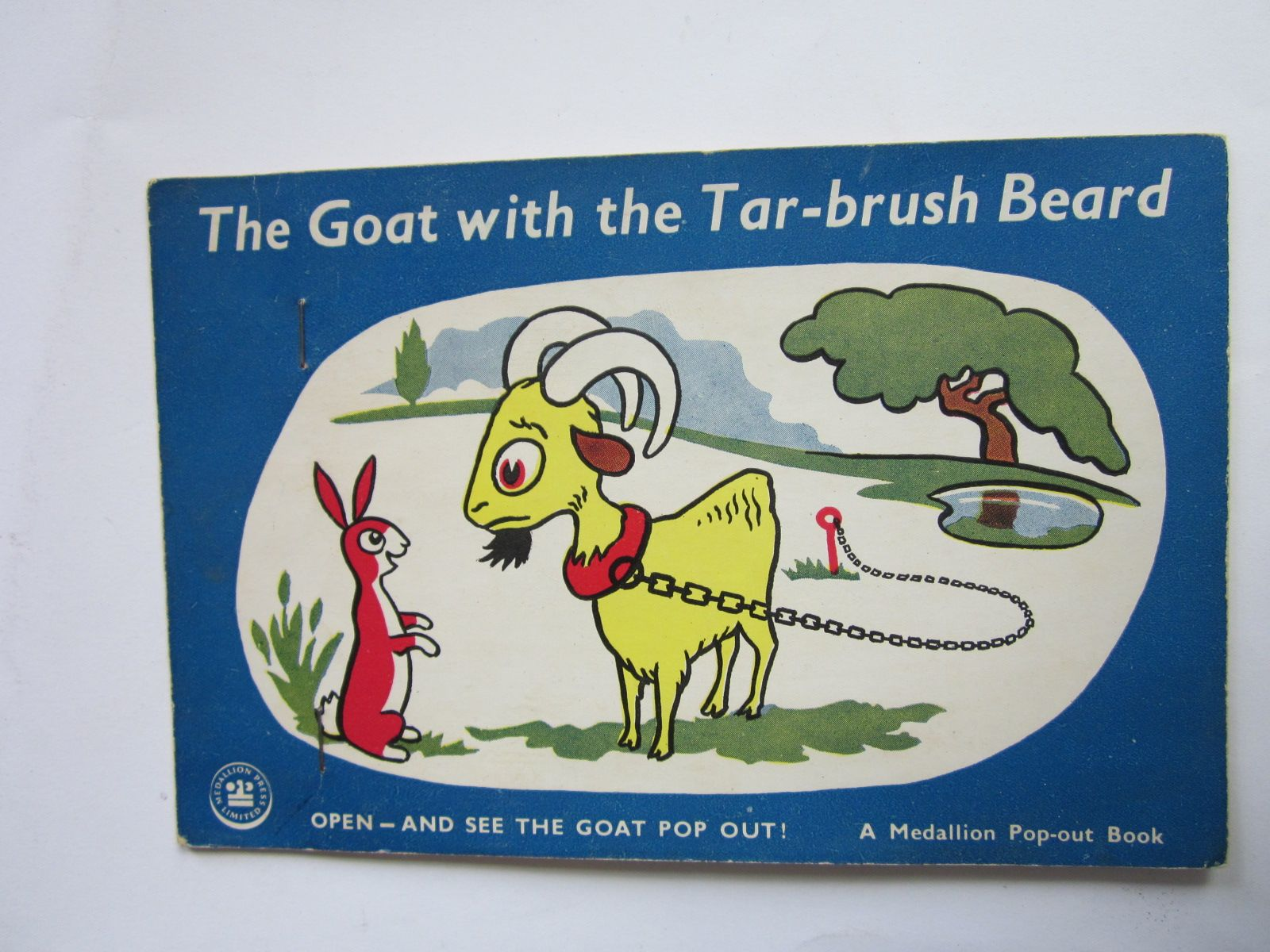 Photo of THE GOAT WITH THE TAR-BRUSH BEARD- Stock Number: 1309221