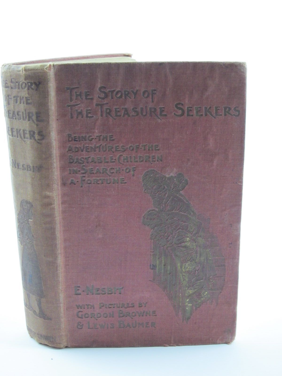 Photo of THE STORY OF THE TREASURE SEEKERS written by Nesbit, E. illustrated by Browne, Gordon<br />Baumer, Lewis published by T. Fisher Unwin (STOCK CODE: 1309246)  for sale by Stella & Rose's Books