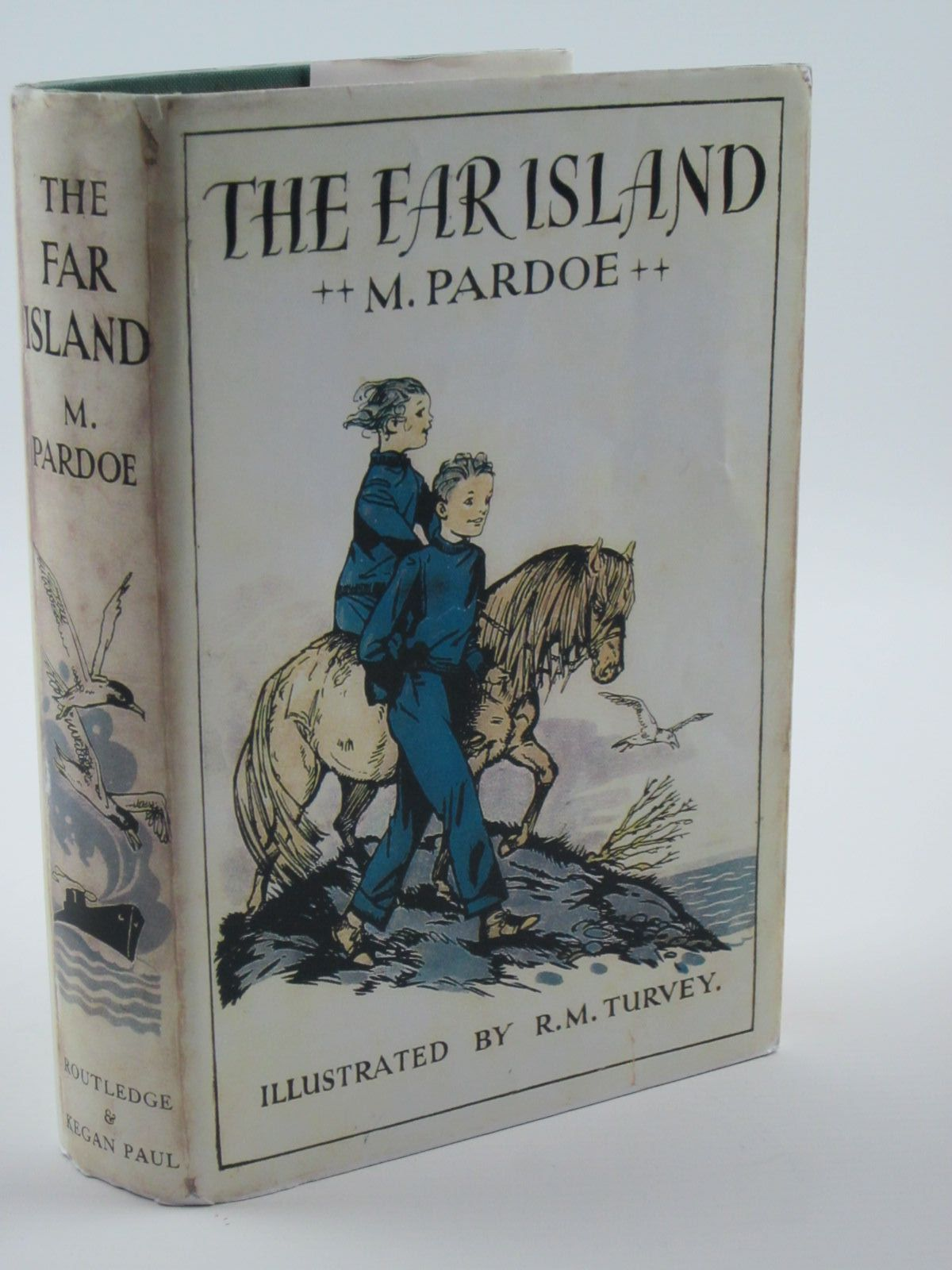 Photo of THE FAR ISLAND written by Pardoe, M. illustrated by Turvey, R. published by George Routledge & Sons Ltd. (STOCK CODE: 1309281)  for sale by Stella & Rose's Books