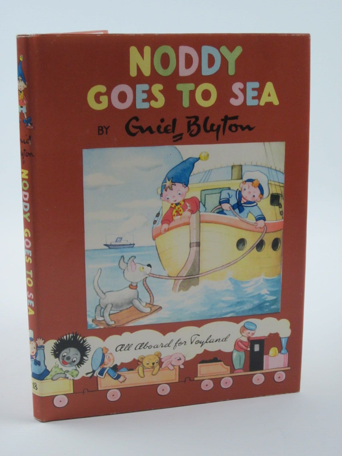 Photo of NODDY GOES TO SEA written by Blyton, Enid illustrated by Wienk, Peter published by Sampson Low, Marston & Co. Ltd., Dennis Dobson Ltd. (STOCK CODE: 1309299)  for sale by Stella & Rose's Books