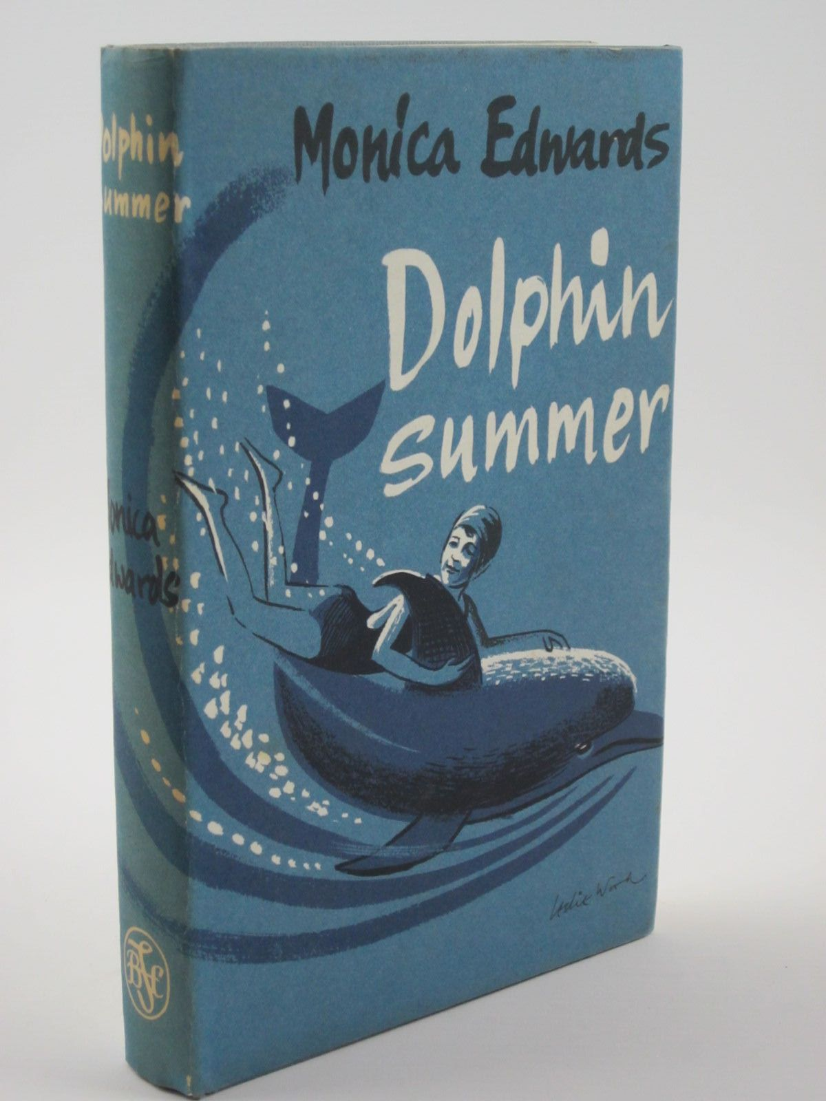 Photo of DOLPHIN SUMMER written by Edwards, Monica illustrated by Whittam, Geoffrey published by The Children's Book Club (STOCK CODE: 1309442)  for sale by Stella & Rose's Books