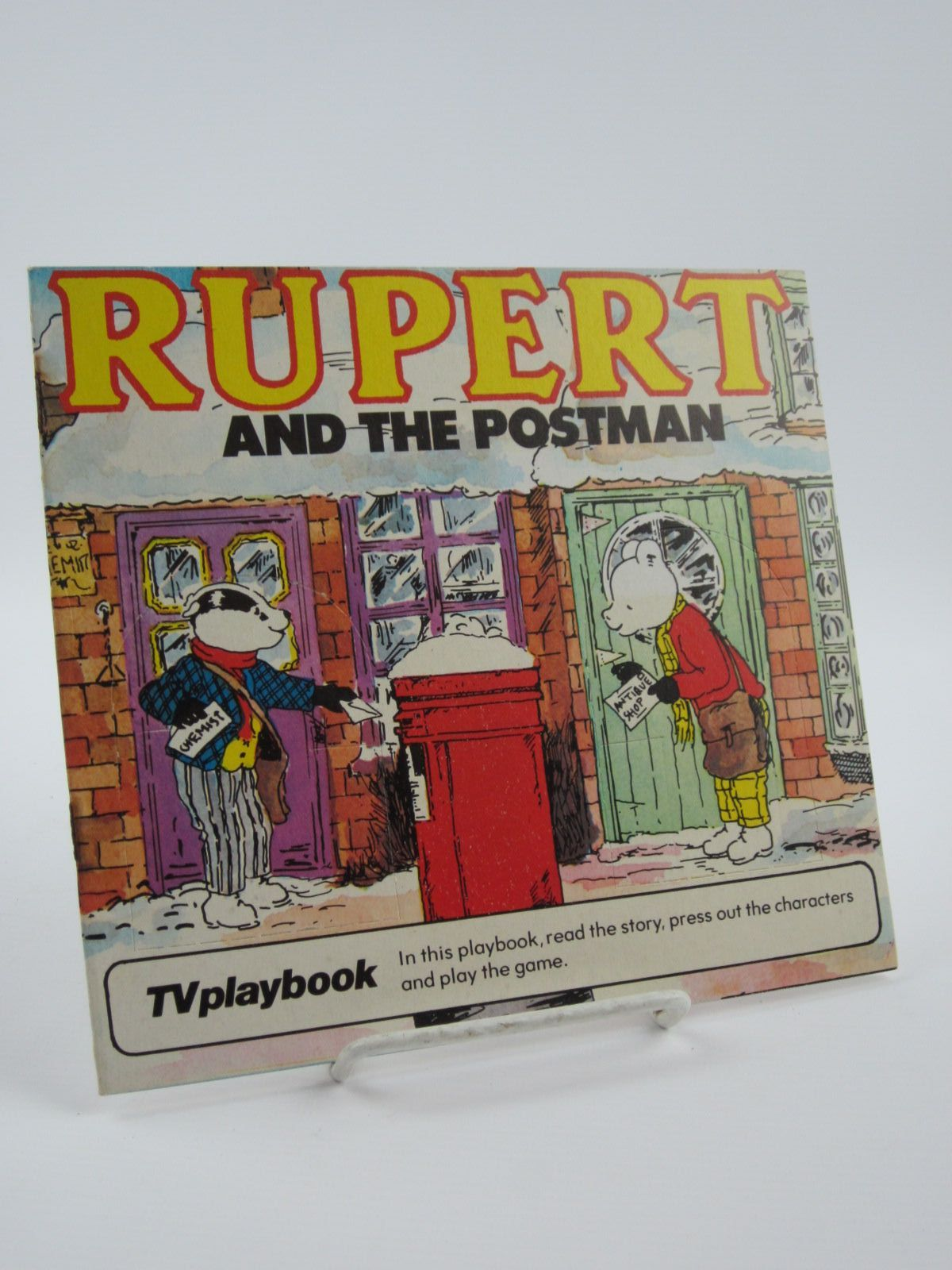 Photo of RUPERT AND THE POSTMAN- Stock Number: 1309529