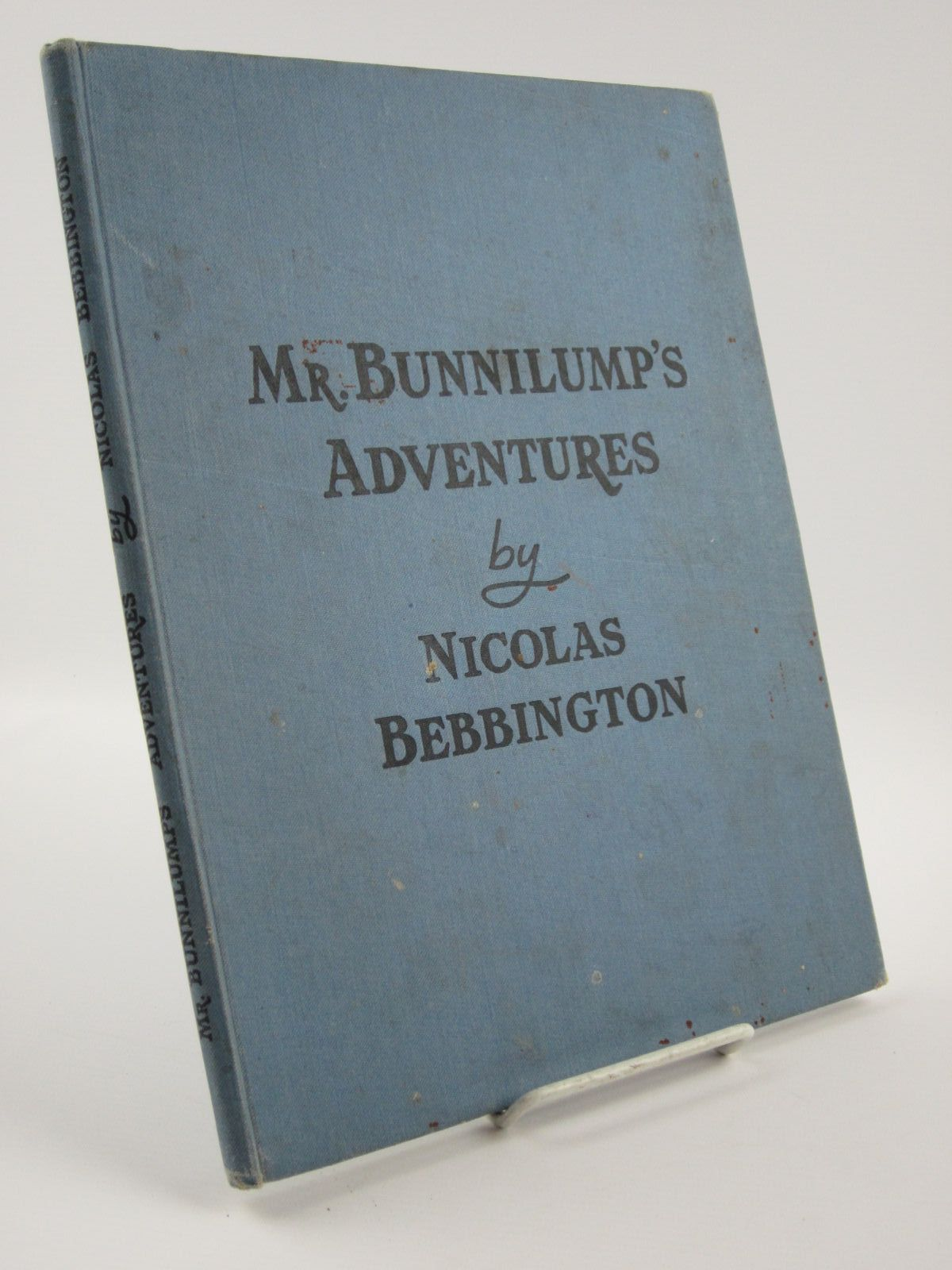 Photo of MR. BUNNILUMP'S ADVENTURES written by Bebbington, Nicolas illustrated by Turvey, Rosalind M. published by Marcus Harris & Lewis Ltd. (STOCK CODE: 1309708)  for sale by Stella & Rose's Books