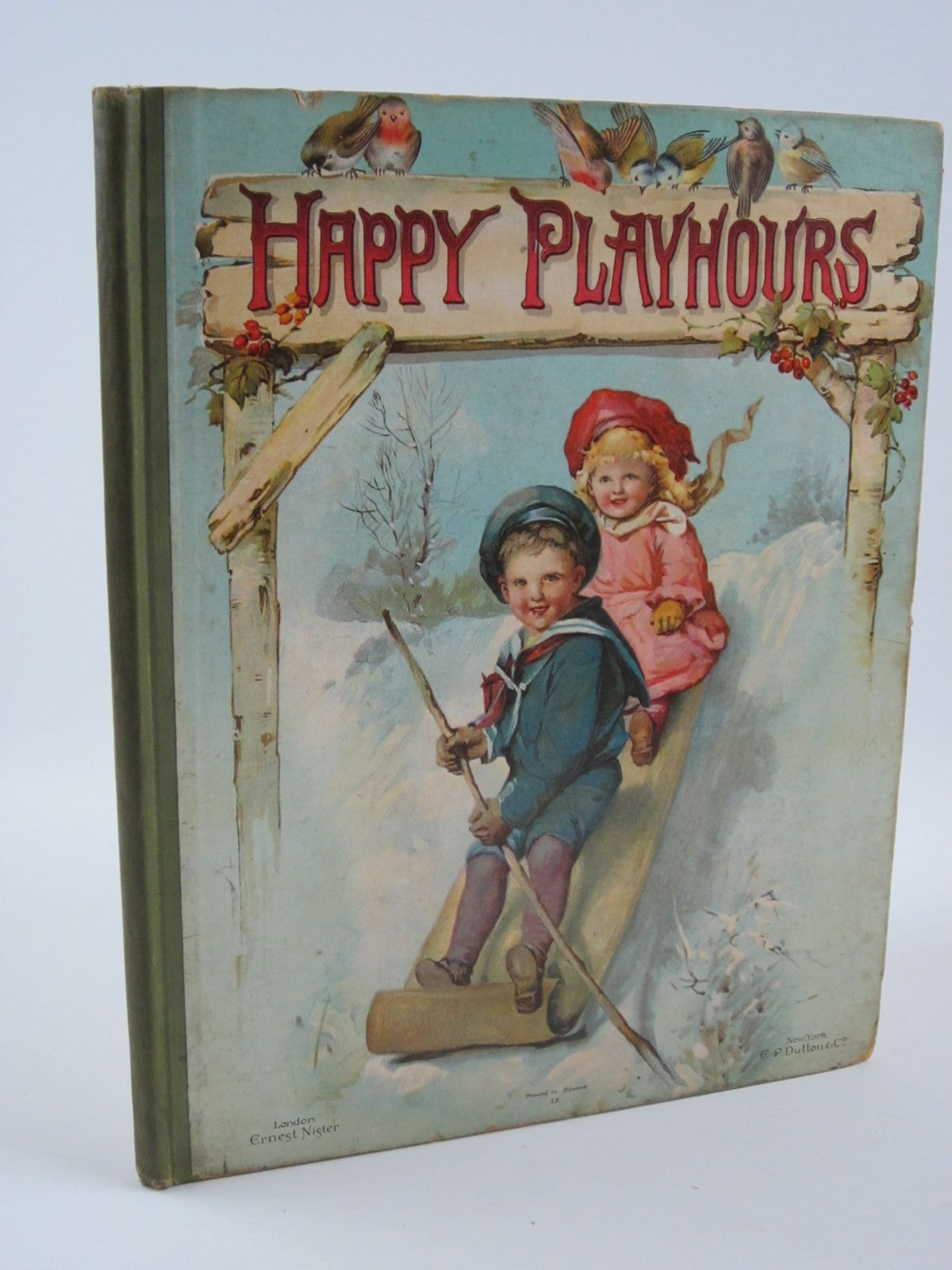 Photo of HAPPY PLAYHOURS written by Haskell, L. Wood, Helen J. et al, illustrated by Rainey, W. et al., published by Ernest Nister (STOCK CODE: 1309802)  for sale by Stella & Rose's Books