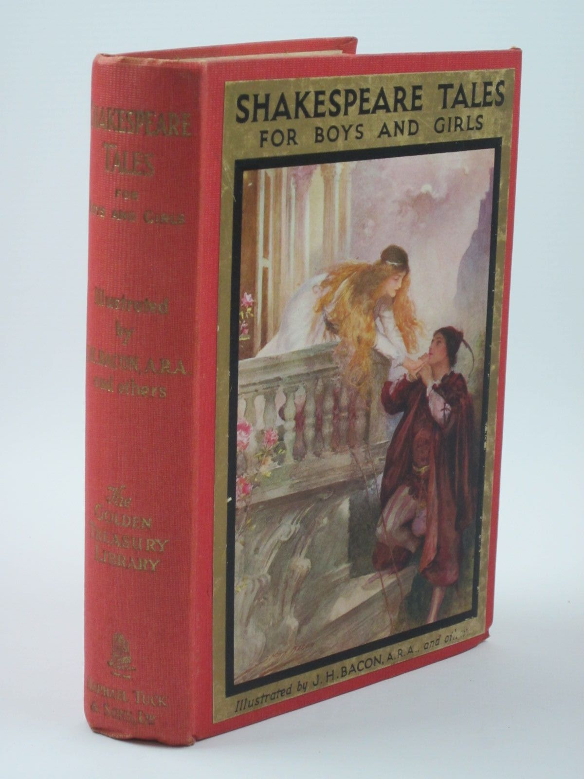 Photo of SHAKESPEARE TALES FOR BOYS AND GIRLS and WHEN SHAKESPEARE WAS A BOY written by Furnivall, F.J.<br />Shakespeare, William illustrated by Bacon, John H.F.<br />et al., published by Raphael Tuck &amp; Sons Ltd. (STOCK CODE: 1309876)  for sale by Stella & Rose's Books